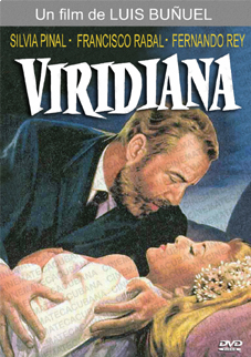 Poster announcing Viridiana in Cuban cinemas