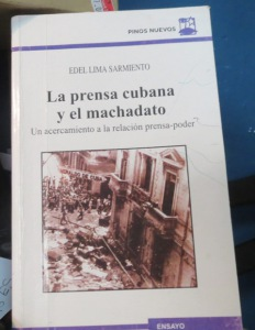 Edel Lima's Book. Photo: Tania Díaz Castro