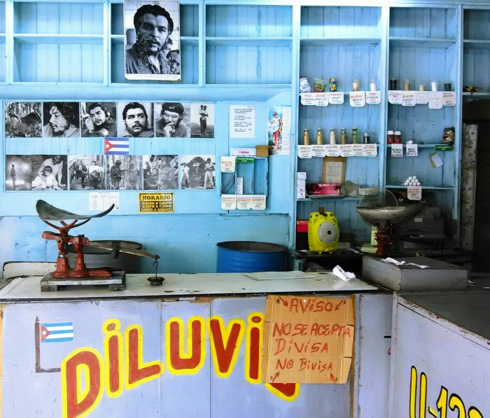Cuban Grocery Shop. Photo: Mario Hechevarría Driggs